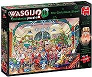 Jumbo 19183 Wasgij Original 16 - 圣诞秀 2X 1,000。免费 1,000 片拼图