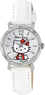 [西铁城 Q&Q]CITIZEN Q&Q 手表 Hello Kitty 指针式 皮革表带 日本制造