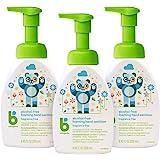 BabyGanics 无酒精泡沫洗手液 按压瓶 无香料 8.45液盎司(250ml)瓶 3瓶装 包装或有不同