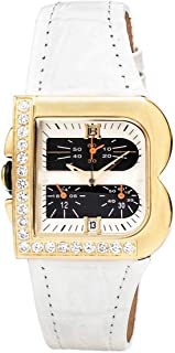 LAURA BIAGIOTTI 女士指针式石英手表,皮革表带,LB0002L-03Z-A