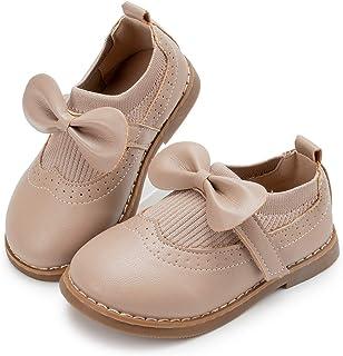 Zoolar 女童玛丽珍鞋舒适制服牛津正装鞋公主学校平底鞋