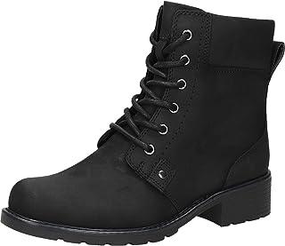 Clarks 女士Orinoco Spice Cold lined 经典靴子 半长