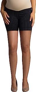 Ellie Flora 女士肚皮超软人造丝披风甜心塑臀孕妇短裤