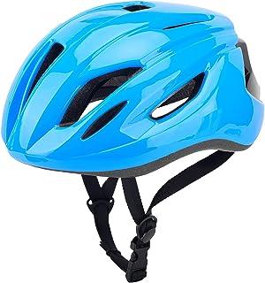 Spanter 成人自行车头盔,公路自行车头盔,可拆卸磁性护目镜替换衬里山地自行车头盔男女可调节尺寸 22-24 英寸