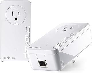 devolo Magic 2 LAN - 电力线入门套件:立即为您的家提供千兆网络(2 个适配器,每个 1 个 Gb LAN 端口,G.hn)