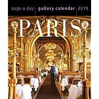 Paris Page-A-Day 桌面画廊日历 2019 [15.24 cm x 18.42 cm]