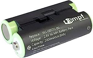 MPF Products 2000mAh 010-11874-00, 361-00071-00 替换电池,兼容 Garmin Oregon 600, 600t, 650t 手持式 GPS 设备