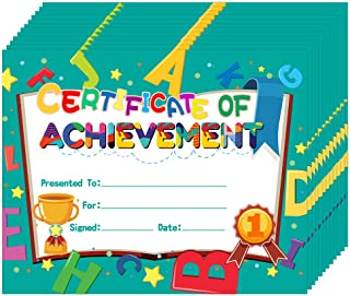 Hohomark 30 件儿童*证书 20.32 厘米 x 25.4 厘米幼儿园幼儿园幼儿园成就和表彰学生教师返校教室用品