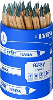 LYRA Ferby 石墨色圆形罐 带 36 支彩色铅笔,石墨色