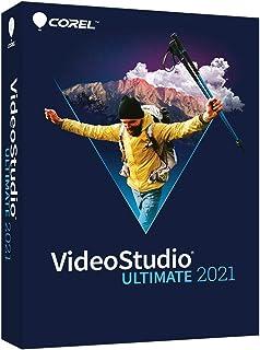 Corel VideoStudio 2021 Ultimate|视频和电影电子编辑软件 | 幻灯片制作器、屏幕录制器、DVD 刻录机 [PCDisc]|Ultimate|1 设备|永久|PC|光盘