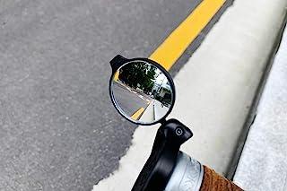 THE BEAM Adulte 中性 Corky URBAN 通用镜,适用于自行车和电动自行车,山地自行车或踏板车,黑色,镜面直径 35 毫米
