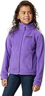 Columbia 女童羊毛外套夹克 Grape Gum Large