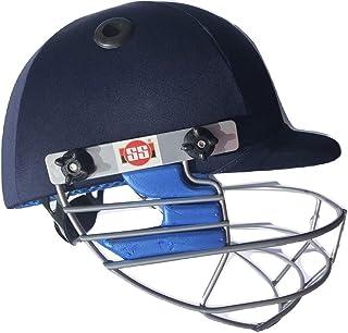 SS Cricket Matrix 高级板球头盔 - 均码 ' 男式尺寸(可调节带带带球)