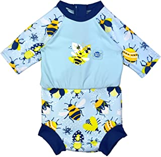 Splash About Baby Happy Nappy Sunsuit Bugs Life 3-8 个月内置游泳