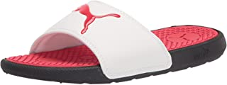 PUMA 中性儿童 Cool Cat 拖鞋