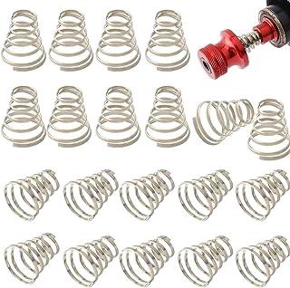 20 件不锈钢通用快速释放自行车轮绳弹簧配件塔弹簧