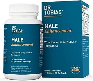 Dr. Tobias 男士增强版 - 含tongkat ali,Horny 山羊杂草,Maca - 补充 - 60 粒胶囊