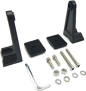 TIHOOD 侧安装支架,通用工作 LED 灯条支架侧安装支架橡胶垫支架,适用于吉普卡车