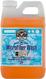 Chemical Guys CWS_201_64 超细纤维清洁布洗车毛巾浓缩清洁剂,64 盎司(约1.89升)