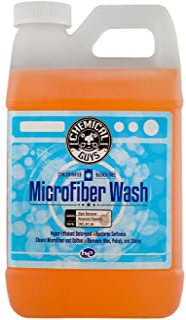 Chemical Guys 专业级优质超细纤维毛巾 6 .5 Gal/64 oz 橙色 CWS_201_64