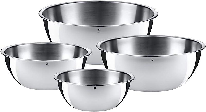 WMF 福腾宝 Gourmet系列 不锈钢料理碗具 4件套 镇店之宝¥221.18 可3件92折