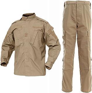 DLP 战术 BDU 战斗裤 + 夹克套装 65/35 涤纶/棉防撕裂