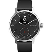 Withings ScanWatch 诞生于法国的智能手表 42毫米款 黑色 *长可持续30天 心率急剧变化&*中的*乱…