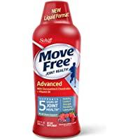 Move Free 益节 葡萄糖胺软骨素+ D3补充液(每瓶30粒),有益于提高移动性,灵活性,强度,润滑性,舒适性以及…