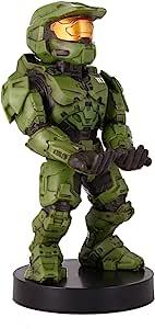精致游戏电缆套 - Halo Infinite Master Chief - Cable Guy 手机和控制器支架