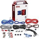 BOSS Audio Systems KIT2 8 号放大器安装接线套件 - 车载放大器接线套件可帮助您连接并为收音机…