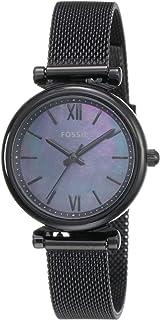 Fossil Women's Carlie Mini Stainless Steel Mesh Casual Quartz Watch