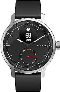 Withings ScanWatch 诞生于法国的智能手表 42毫米款 黑色 *长可持续30天 心率急剧变化&*中的*乱 HWA09-MODEL 4-ALL-RO