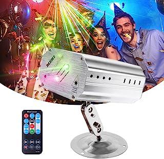 派对灯,便携式声控 DJ 频闪灯,带遥控器,(语音控制 / 自动 / 频闪)派对灯,迷你舞台灯,适合生日派对 KTV 酒吧