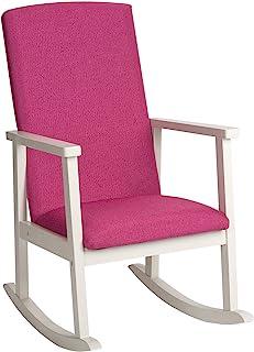 GiftMark 豪华儿童摇椅,白色