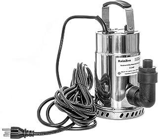 Rainbro 1/2 HP 无油不锈钢潜水实用泵多功能或多用途泵,瀑布喷泉泵,30 英尺(约 9.1 米)电源线,型号# SWP050