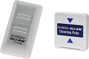 ScreenKlean Elite 清洁适用于平板电脑和智能手机套装(包括 1 个替换垫)白色