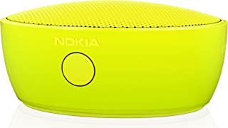 Nokia MD-12 可充电蓝牙 /NFC 无线便携式迷你扬声器,带内置智能手机/平板电脑麦克风MD-12YL