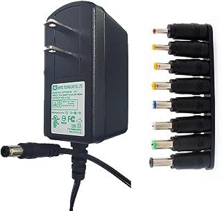 通用5V 2A(2000 mAmp 及更低)充电器电源适配器 UL / CE 列出 8 个提示开关 AC 适配器 适用于扬声器路由器 平板电脑 LED 权利网络摄像头 变压器 HUB 替换电源