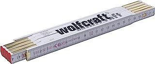 Wolfcraft 5227000 Metro plegable 2 米 1 件装