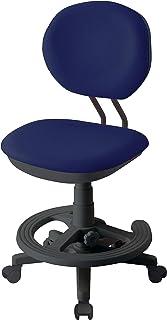 小泉成器 学习椅 藏青色 W47.5×D48.5~56×H81~92cm SH42.5~53.5cm(外部尺寸) 正合适椅子 藏青色 CDY-373BKNB