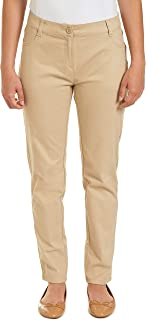 Chaps 青少年制服紧身弹力棉缎裤