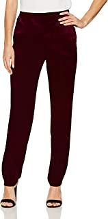 NINE WEST 女式天鹅绒长裤