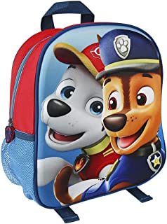 Paw Patrol 狗狗巡逻队 2100001958 31 厘米 Chase and Marshall 3D 效果少年背包