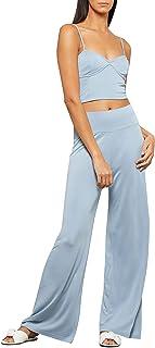 BCBGMAXAZRIA 女式阔腿针织裤