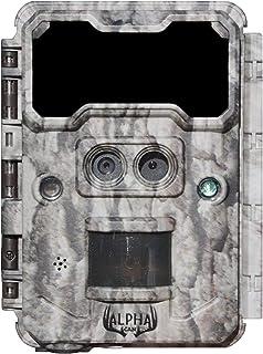 Alpha Cam 双镜头狩猎越野摄像机 30MP 1080p 30fps IP67 防水侦察摄像头超快速触发速度和恢复率 2.4 英寸彩色屏幕48 无发光红外 LED