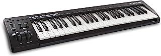 M-Audio Keystation 49 MKIII 49键MIDI键盘,带可分配控制器,音高/调制轮,即插即用(Mac /PC)连接和软件制作套件