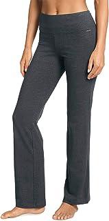 Jockey 女式修身喇叭裤 炭黑色 Medium