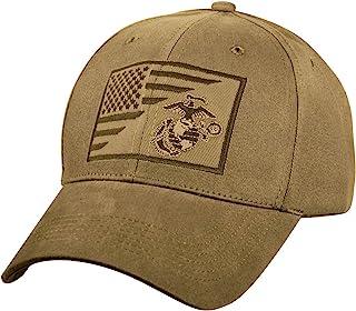 Rothco USMC 地球和锚/美国国旗低帮专业帽