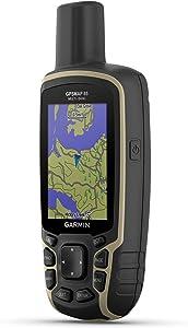 Garmin GPSMAP 65 按钮式手持设备,扩展卫星支持和多频技术,2.6 英寸彩色显示屏,010-02451-00