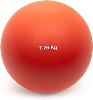 Crown Sporting Goods 7.26 千克(16 磅)室内投球球球 - 室内田径品质奥运会尺寸投球球适用于室内练习和重量训练 男女皆宜
